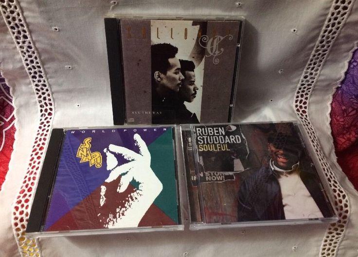 3 CDs: Calloway / Snap! / Ruben Studdard 1-Owner Brilliant Discs R & B Soul Pop    eBay