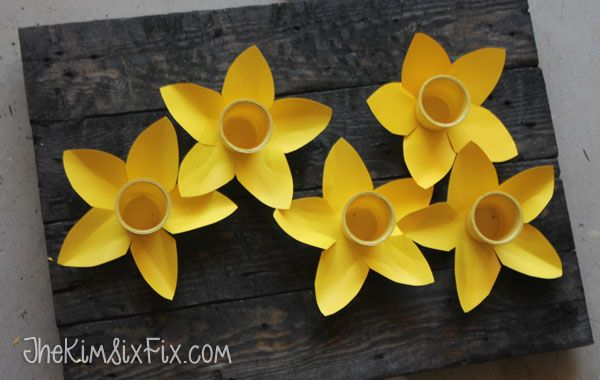 Spring Daffodils From Keurig K-Cups :: Hometalk