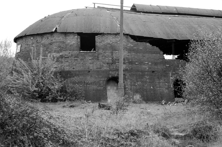 Photographs of the Oakwell Brickworks, Ilkeston - The Hoffman Kiln, Oakwell Brickworks, Ilkeston #8