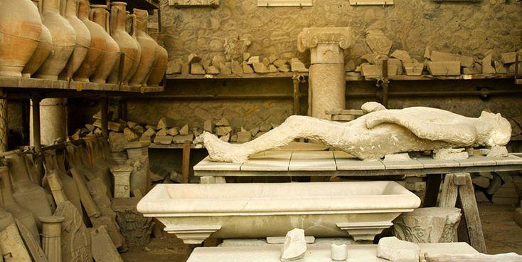 Los muertos de Pompeya - http://www.absolutitalia.com/los-muertos-pompeya/