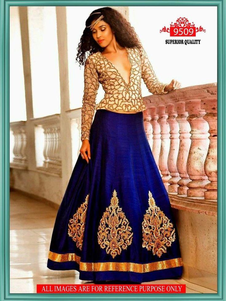 Saree Bollywood Indian Designer Party wear Lehenga Sari Pakistani Wedding 9509 #StyleFashionHub #LehengaSemiStitched #PartyWearBridalWeddingFestivalReception