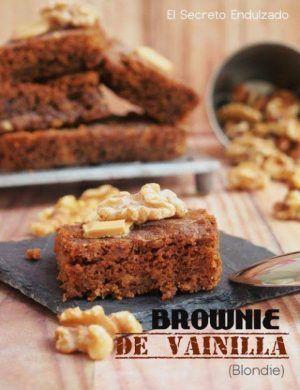 Cómo preparar un Brownie de vainilla