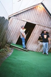 Saint Ignace Mystery Spot is located at 150 Martin Lake Road St. Ignace, Michigan in the Upper Peninsula.