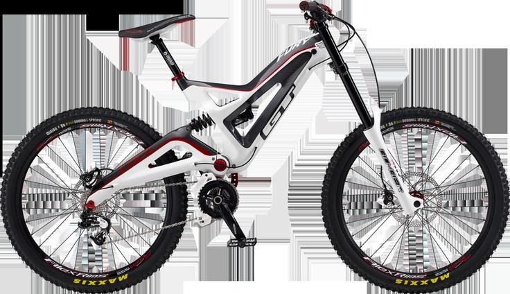 Downhill Bike GT Fury Carbon Team (2012)