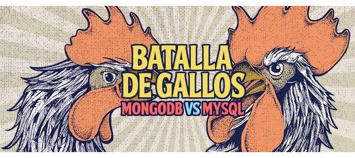 ¿Cuál es la mejor tecnología para guardar tus datos? MongoDB vs MySQL. Esa es la batalla de hoy. ¿Quién ganará? Entra y echa un vistazo ;)  http://gorkamu.com/2016/09/batalla-de-gallos-mongodb-vs-mysql/