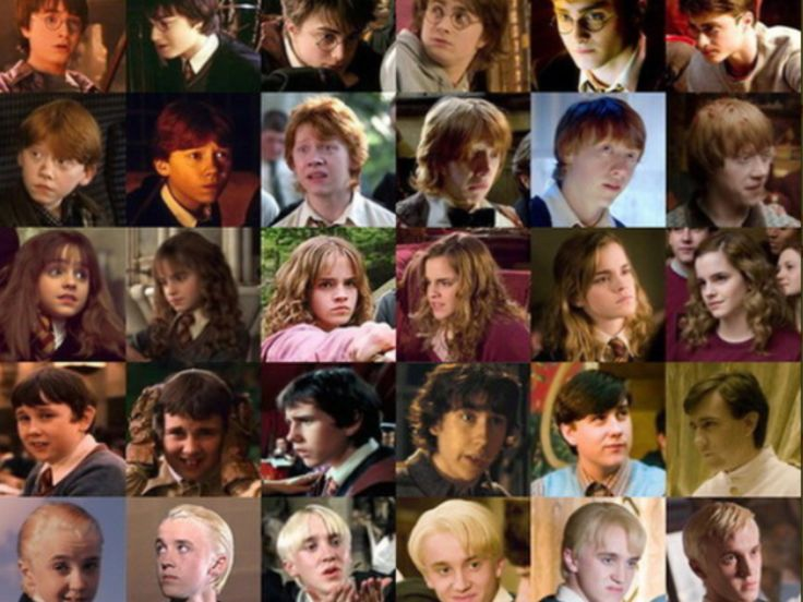 A full list of Harry Potter characters from AZ with labels for houses and group affiliations Everyone from Abbot to Zamojski
