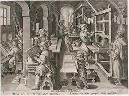 Vroeger werden alle boeken met de hand geschreven. Het duurde allemaal heel lang voor dat alle boeken geschreven waren. Omdat het met de hand waren geschreven werden ze ook voor duur verkocht. Niet alle mensen konden lezen of schrijven maar ze kochten het om een rijke uitstraling aan te tonen. Later werd de drukpers uit gevonden waar het sneller mee gebeurde. Door boeken werden de verhalen ook snellen verspreid. De wetenschappelijke revolutie bereikte meestal met boeken.