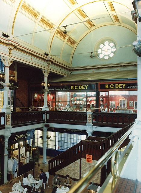 Leazes Arcade Newcastle upon Tyne City Engineers c.1990/ Another Victorian shopping arcade, no longer in existance.