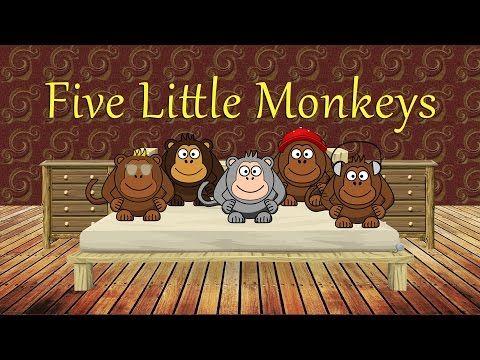 Nursery Rhyme > Five Little Monkeys - free mp3 audio download | Singing bell