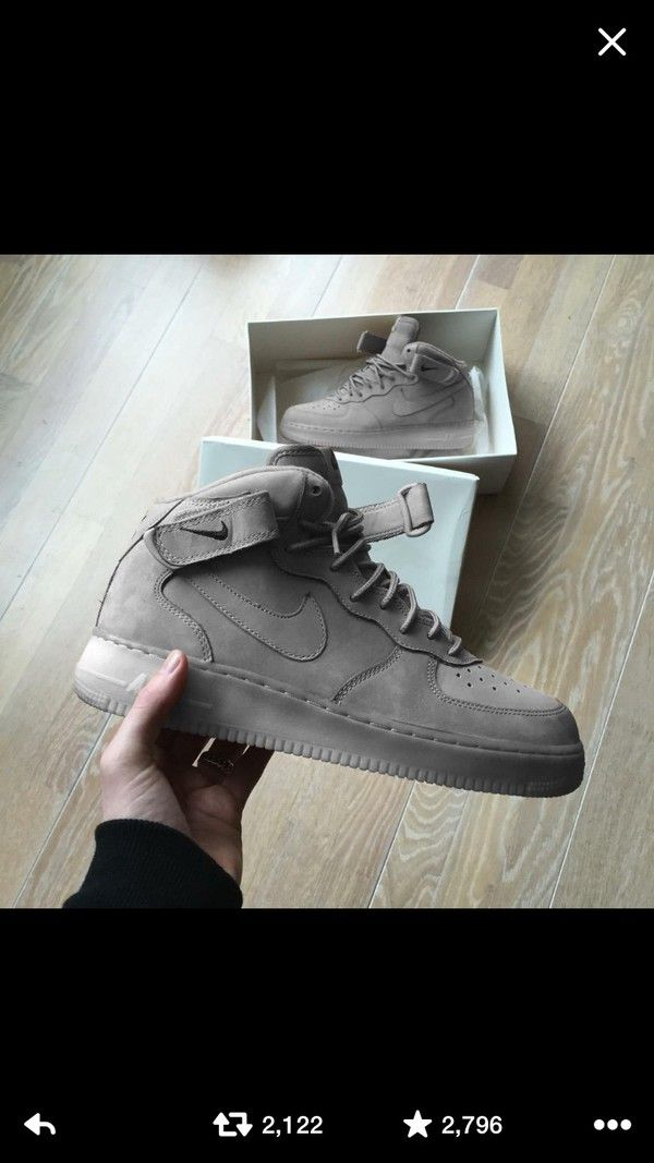 There are 2 tips to buy : shoes ash grey nike nike air force
