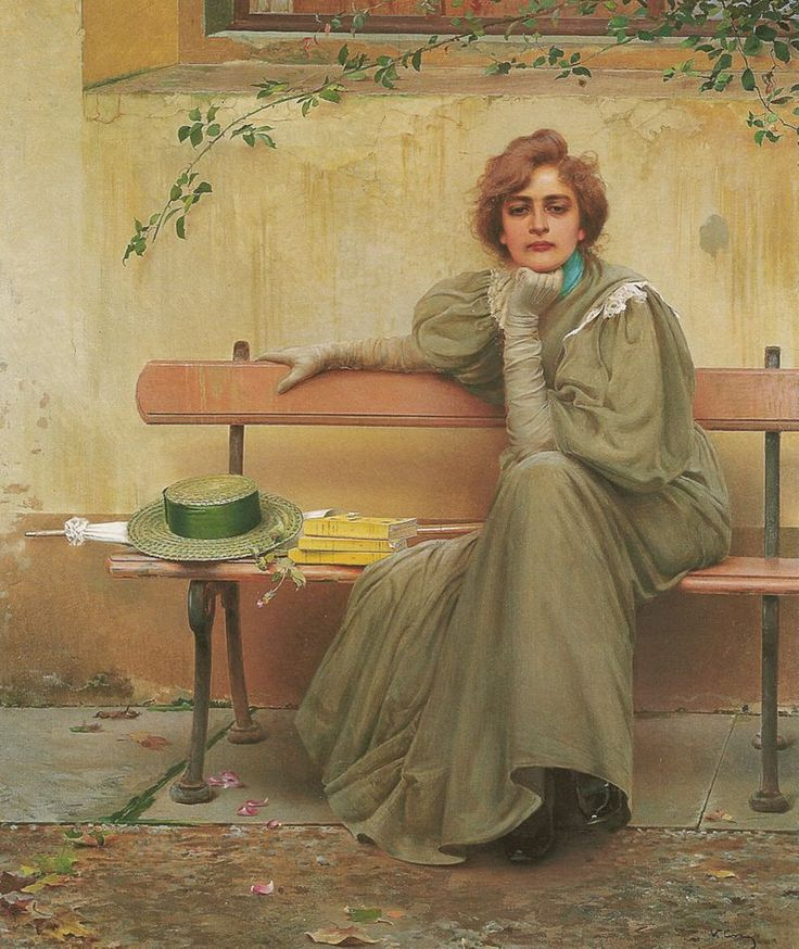 Sogni (1896) by Vittorio Matteo CORCOS