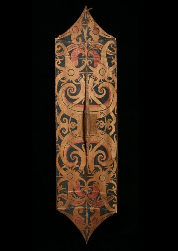 Dayak Head Hunting Shield