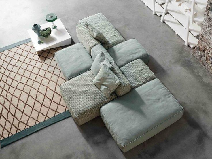 Erhalten Sie Sämtliche Informationen Zu Dem Produkt: Modulierbares Sofa /  Modern / Leder / Stoff PEANUT B   BONALDO. Treten Sie In Direkte Verbindung  Mit ...