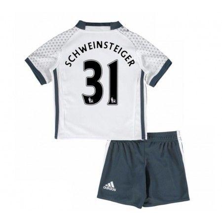 Manchester United Trøje Børn 16-17 Wayne #Rooney 31 3 trøje Kort ærmer,199,62KR,shirtshopservice@gmail.com