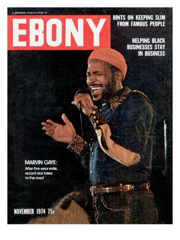 Historic Ebony Magazine Covers Nov 1974