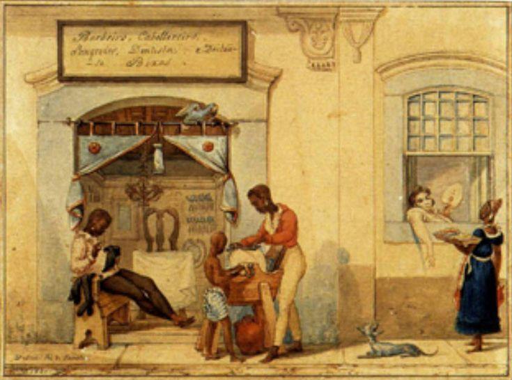 Loja de Barbeiros, Jean Baptiste Debret