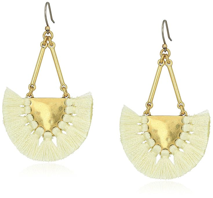 Lucky Brand Womens Fringe Earrings II *** Check this awesome product by going to the link at the image. (This is an affiliate link) #JewelryDesign