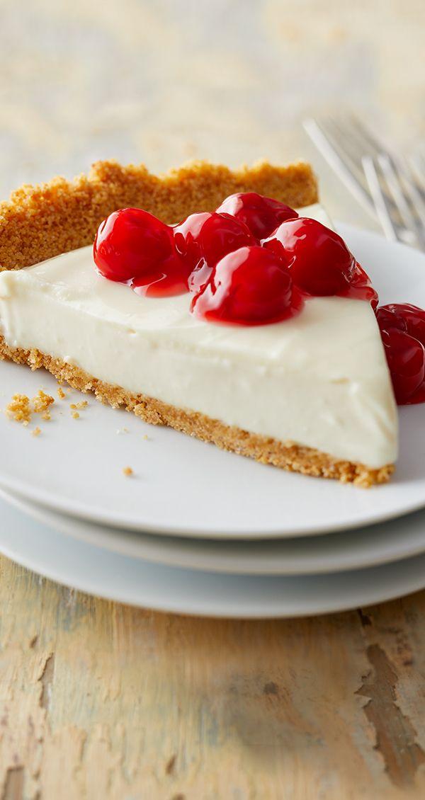 Cherry Cream Cheese Pie Recipe Sweetened Condensed Milk Recipes Sweet Desserts Cherry Cream Cheese Pie