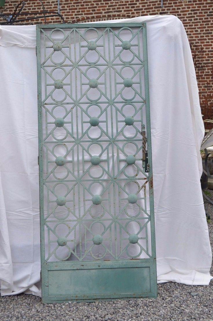 Les 25 meilleures id es de la cat gorie portes en fer forg sur pinterest porte d 39 entr e fer for Porte fer forge ancienne