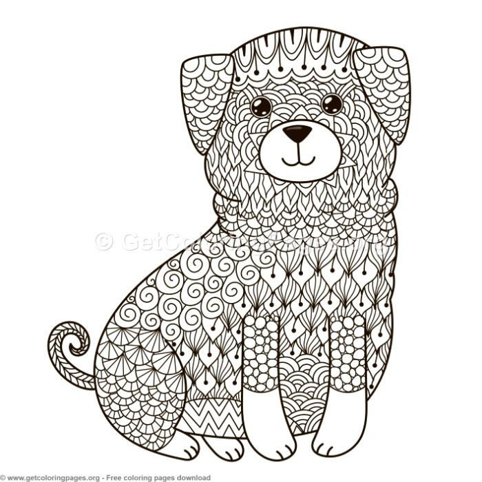 Zentangle Dog Pattern Coloring Pages Getcoloringpages Org Coloring Coloringbook Coloringpages Animal Coloring Pages Dog Coloring Book Lion Coloring Pages