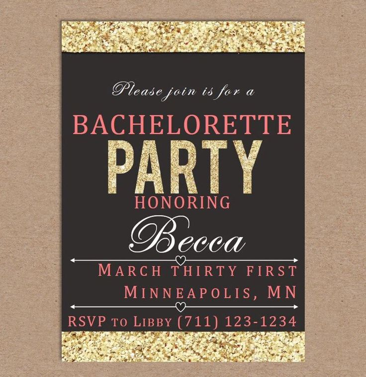 11 best miss becca bachelorette party images on pinterest becca bachelorette party invitation template gold border by missbeccasboutique on etsy httpswww stopboris Gallery