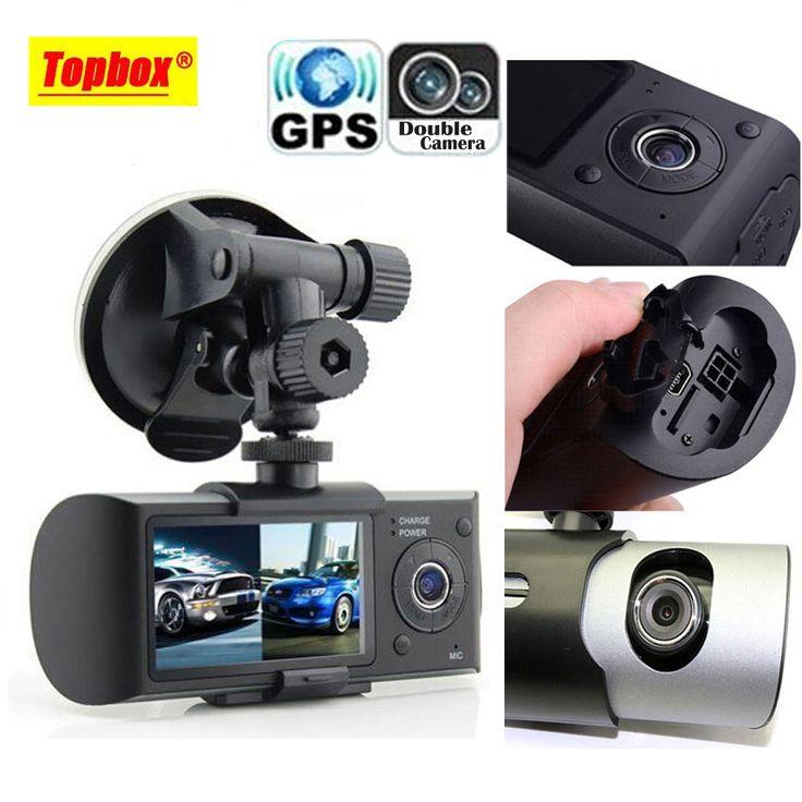 Goliton D A G Sensor Gps Dual Lens Hd Inch Car Dvr Driving Recorder Video Recorder
