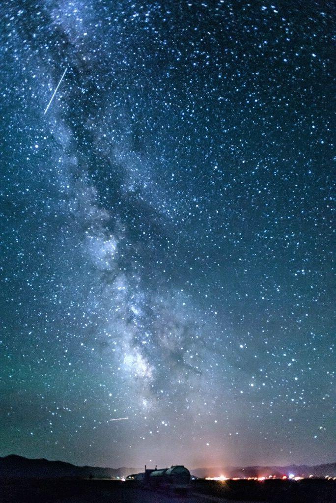 Milky Way Over Jackson Hole Space Estrellas En El
