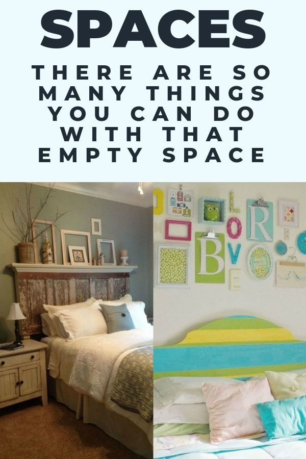10 Amazing Ways To Fill The Blank Space Above Your Bed Home