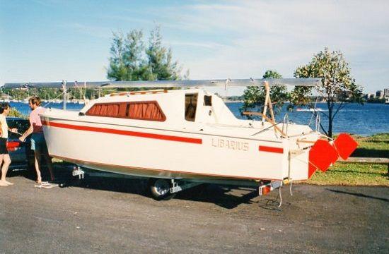 Jarcat 5 Boat Plan Sailing Catamaran Catamaran Boat