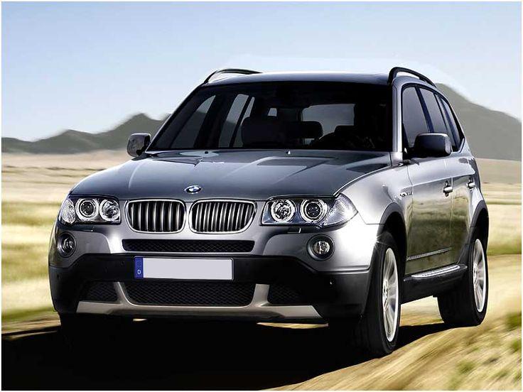 My beautiful dark blue with tan interior BMW X3.