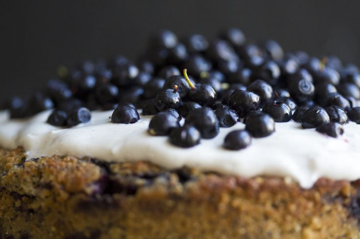 Blueberry, Lemon & Almond Cake