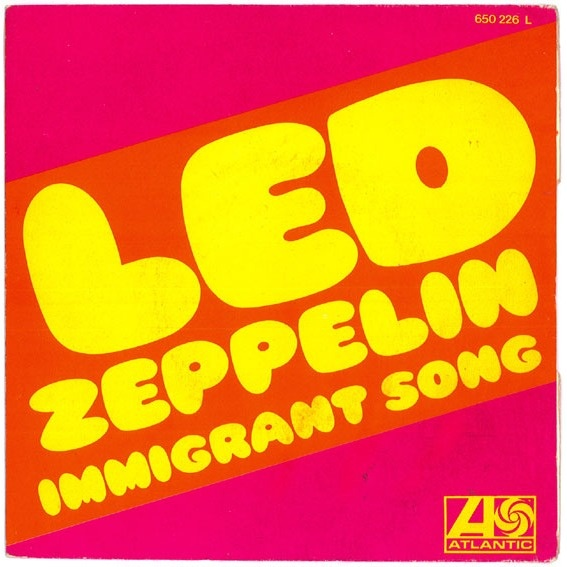 Led Zeppelin Immigrant Song. Best led Zeppelin song too me.