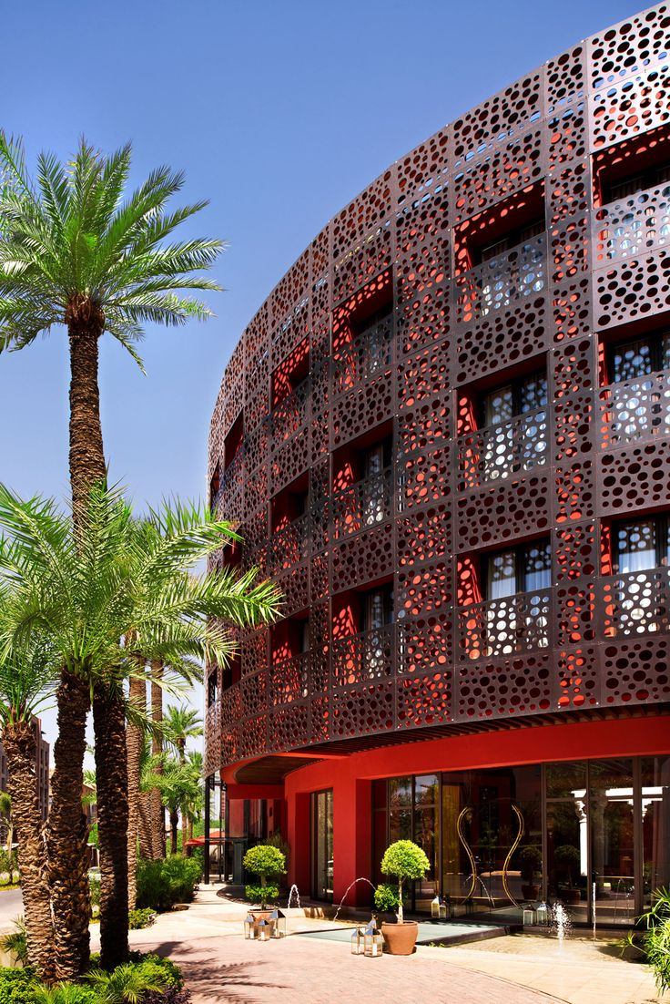 Jacques Garcia designed Delano Marrakech in Morocco