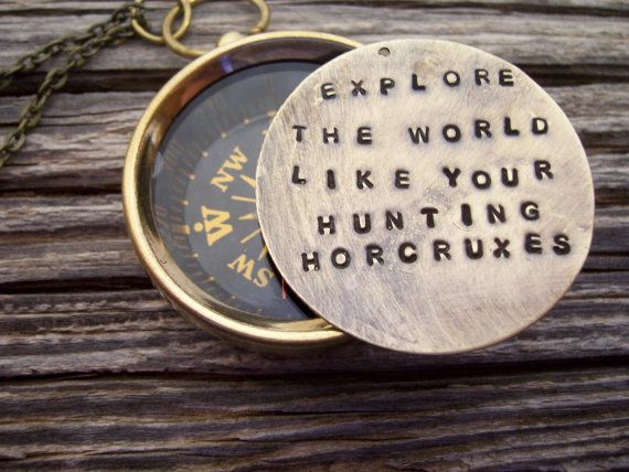 Graduation Gift Harry Potter real Compass hand by TheMeltonPot, $28.00