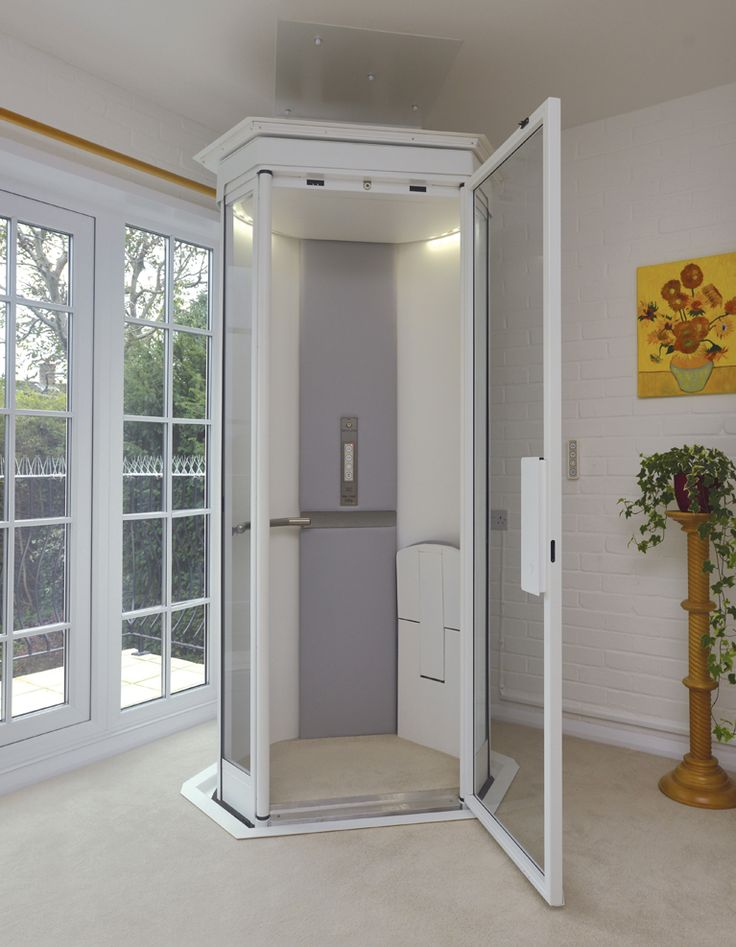 Our lifestyle home lift takes up no more space than an arm for Indoor elevator