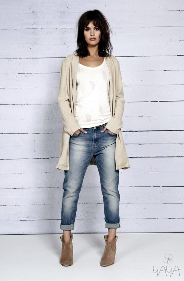 flat ankle boots with jeans - photo #19