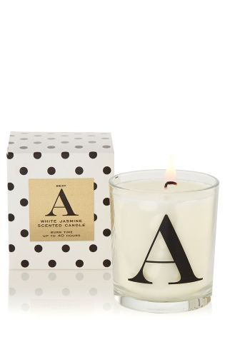 Letter Filled Scented Candles http://bit.ly/1Pw55dA
