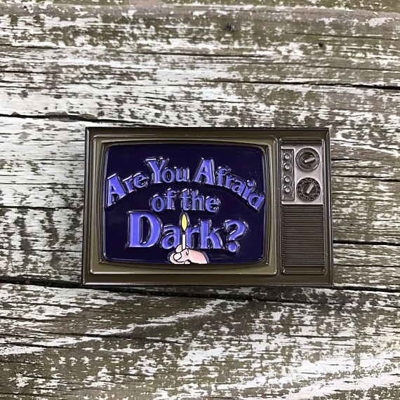 Are You Afraid of the Dark Soft Enamel Pin