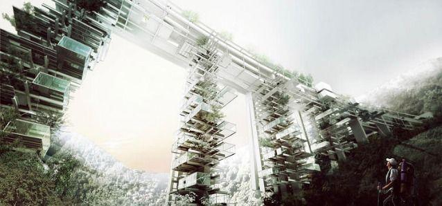 In Calabria i vecchi viadotti diventano grattacieli verticali | Design Fanpage