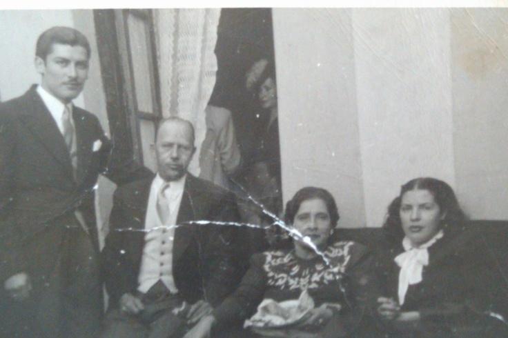 My father, Ernesto Velazquez with Blanca Estela Pavon at my parents Wedding in 1947.