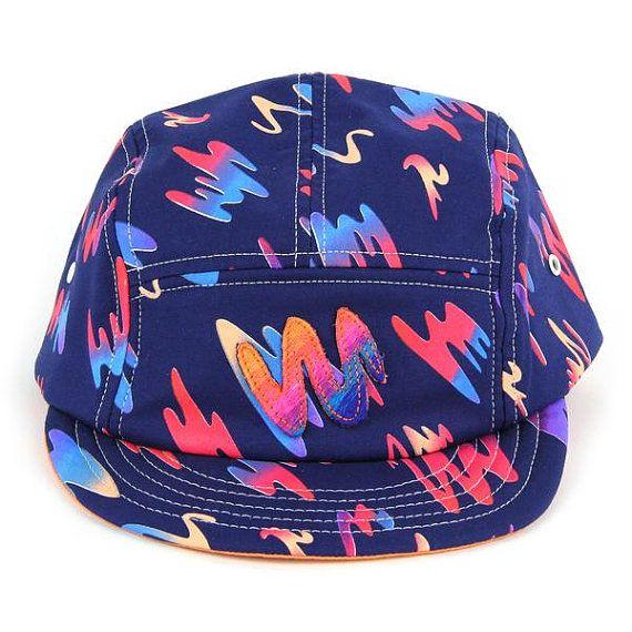 Hot Cut 5 Panel Hat by MokuyobiThreads on Etsy