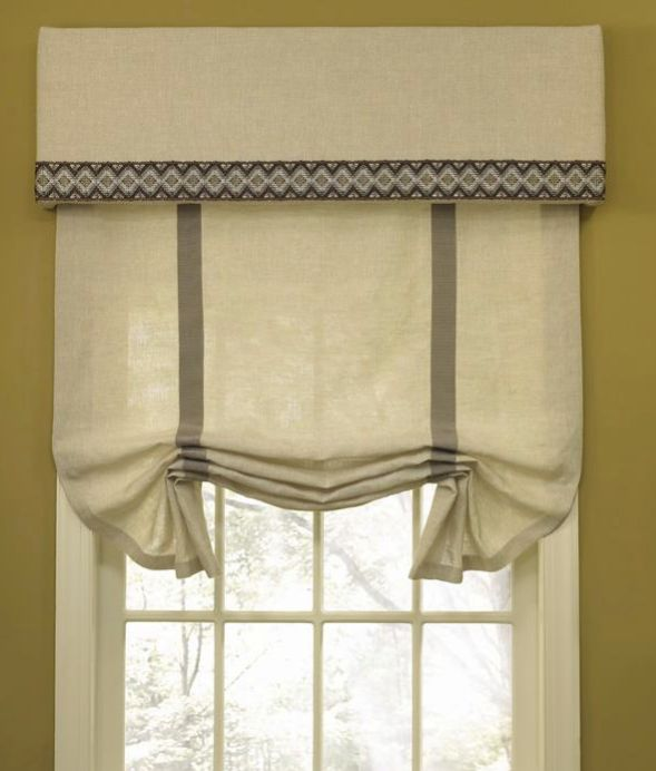 Outside Mount Roman Shades Shade And Valance New