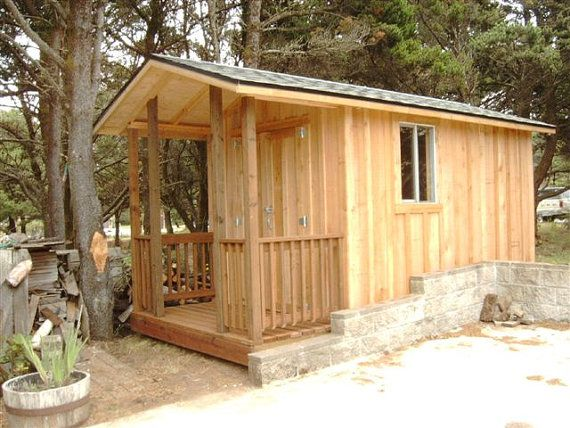 the wood shed portable building