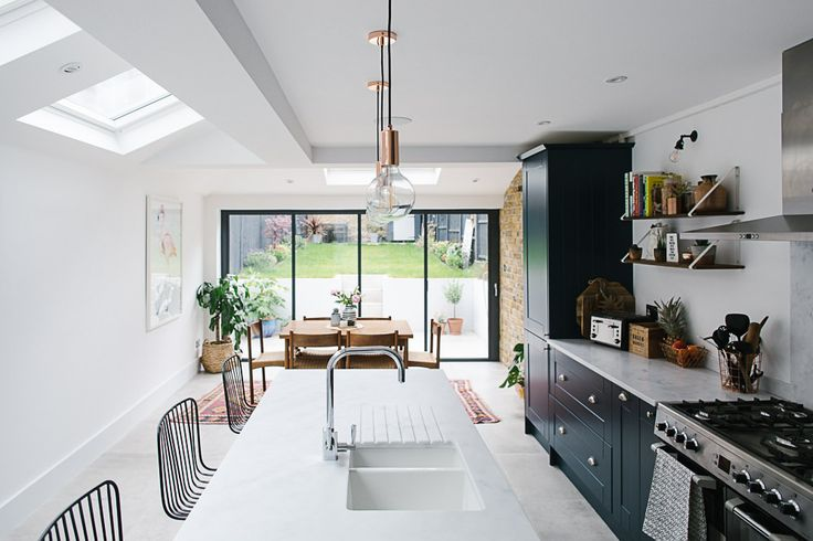London Side Return Extension Kitchen - Image By Adam Crohill