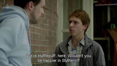 This is why I like Fresh Meat. Such a great show!