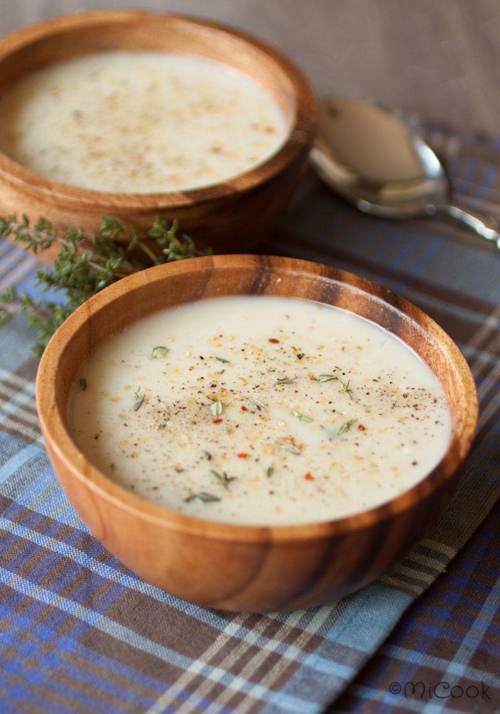 Een fijn recept met aardperen: soep van aardperen. Heerlijk als voorgerecht of een fijne lunch!