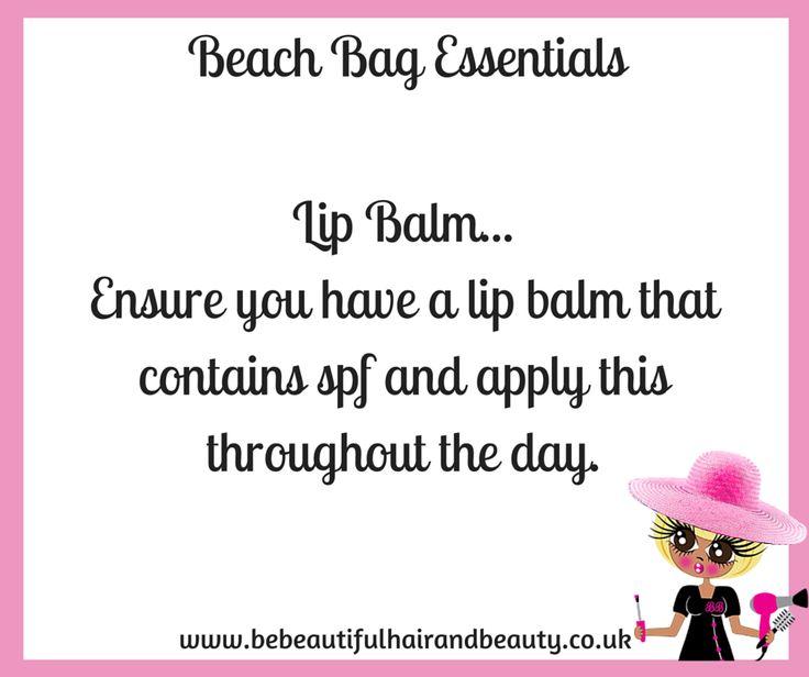 Summer Beach Bag Essentials Tip #3