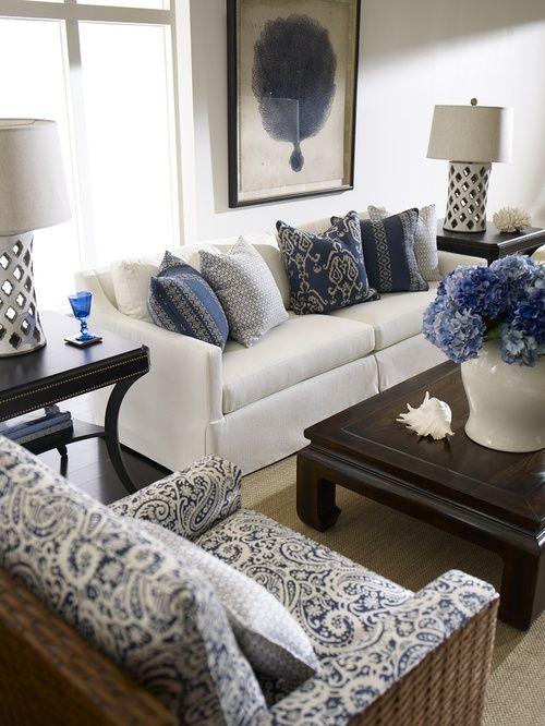 Sofá Branco na Decoração da Sala