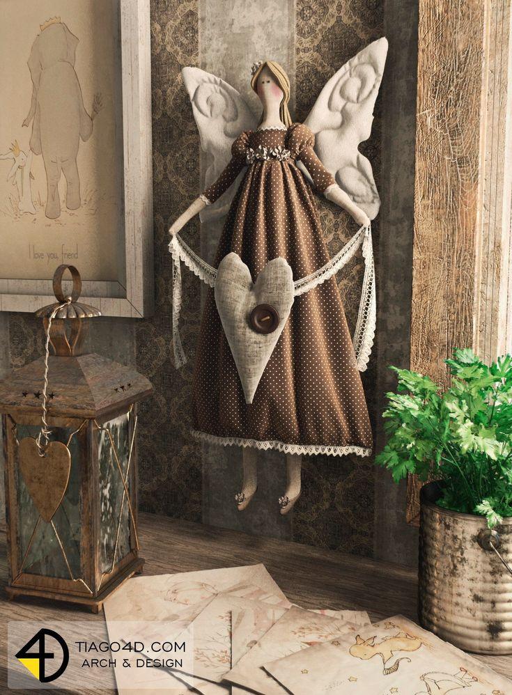 Tilda ~ Sweet Angel                                                                                                                                                                                 Mais