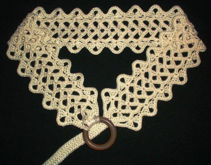 Popelka's Pattern - crochet belt